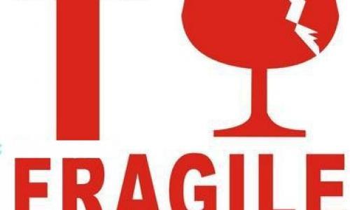 Fragile Sticker Labels