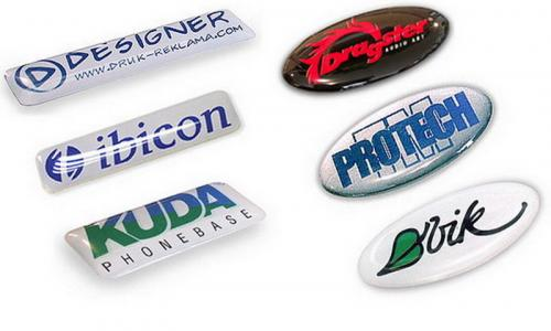 3D Domed Stickers