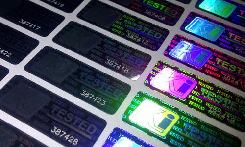 Advanced Hologram Labels