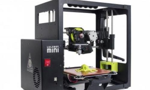 Aleph Objects LulzBot Mini 3D Printer