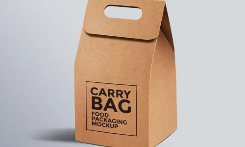 Cardboard Paper Carry Bag