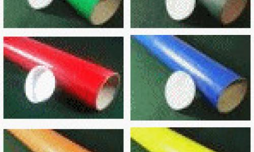 Coloured Postal Tubes