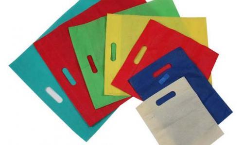 D-Cut Non-Woven Carry Bags