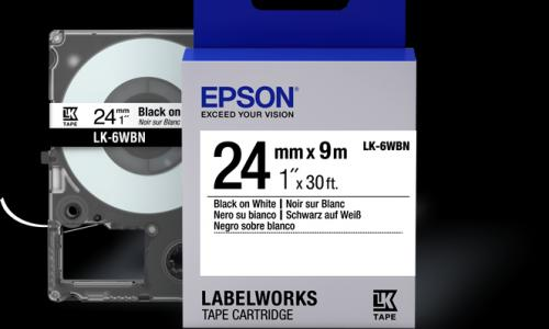 Epson LabelWorks Standard LK Tape Cartridge