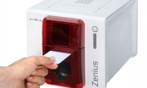 Evolis Zenius card printer