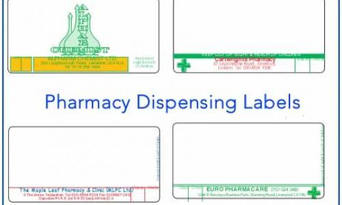 Pharmacy label