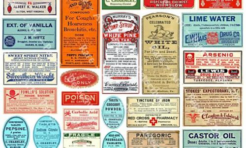 Printed Pharmacy Labels