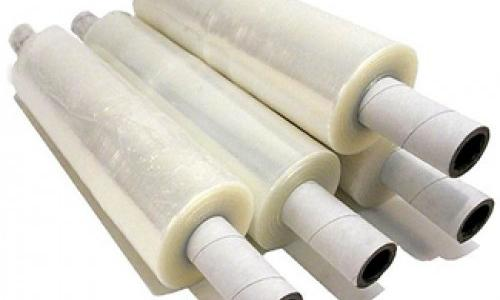 Blown Stretch Film With Extended Cores