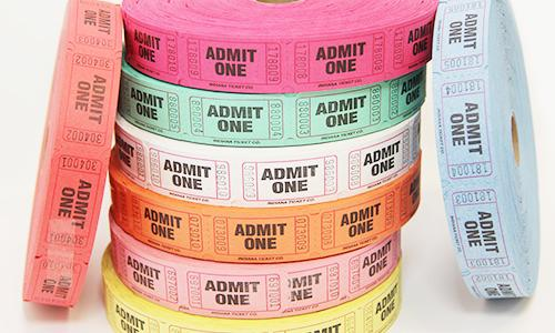 Ticketing Rolls