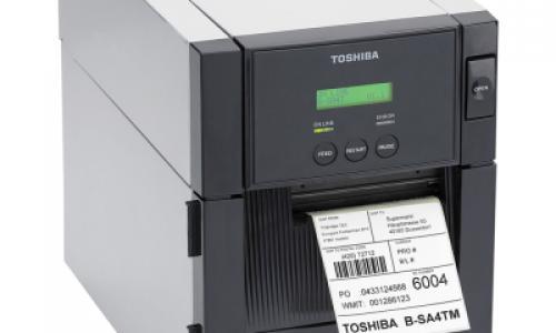 Toshiba B-SA4TP Thermal Label Printer