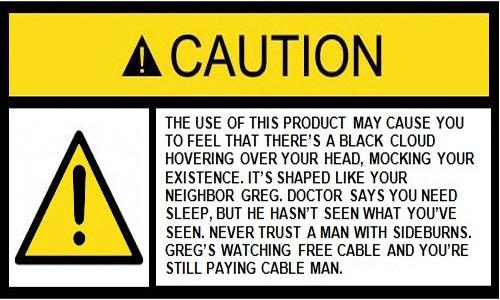 Warning-security-label