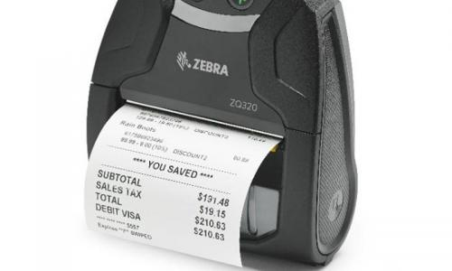Zebra ZQ320 Mobile Label and Receipt Printer