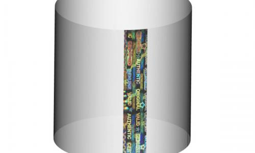 Holographic Neck Shrink Sleeves For Cap