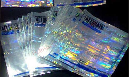 holographic laminating pouches
