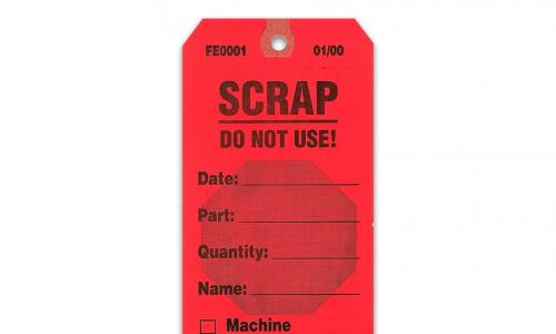 Manufacturing tags