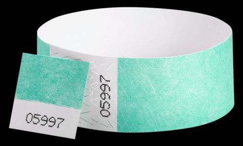 Wide Face Vinyl Wristband
